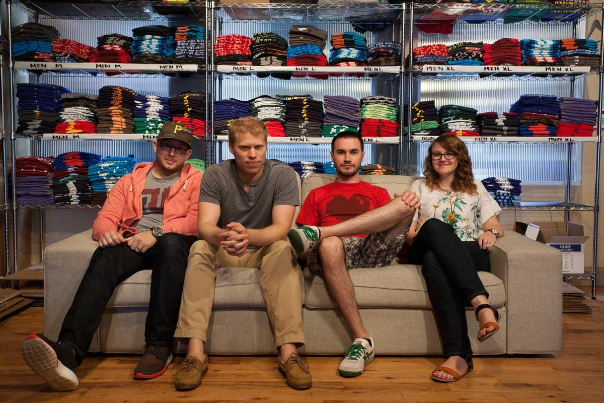 Jay, Nate, Matt, and Sara